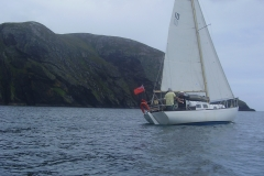 Sailing in the Outer Loch