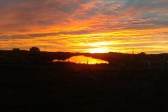 Sunset from Locheynort