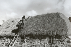 House thatching, 1936