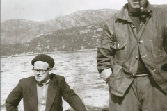 Father Roddy & Donald out fishing